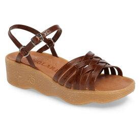 ファモレア レディース サンダル シューズ Famolare Strappy Camper Sandal (Women) Earth Leather
