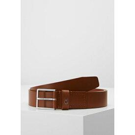 カルバンクライン メンズ ベルト アクセサリー FORMAL BELT - Belt business - brown yljp000b