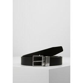 カルバンクライン メンズ ベルト アクセサリー FORMAL BELT - Belt - black/brown yljp000b
