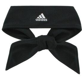 アディダス レディース ヘアアクセサリー アクセサリー adidas Women's Solid Tie Headband Black