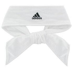 アディダス レディース ヘアアクセサリー アクセサリー adidas Women's Solid Tie Headband White