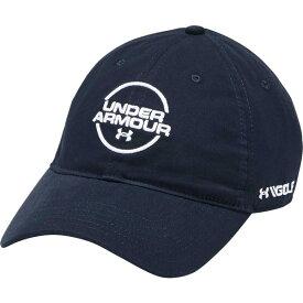 アンダーアーマー メンズ 帽子 アクセサリー Under Armour Men's Jordan Spieth Washed Cotton Golf Hat Academy/White