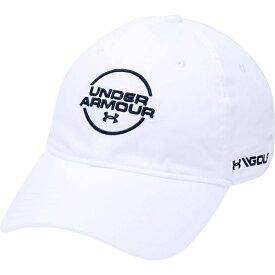 アンダーアーマー メンズ 帽子 アクセサリー Under Armour Men's Jordan Spieth Washed Cotton Golf Hat White/Academy