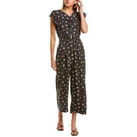 レベッカテイラー レディース ワンピース トップス Rebecca Taylor Maui Floral Silk-Blend Jumpsuit black combo