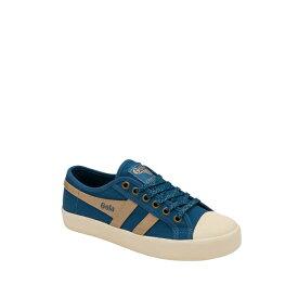 ゴラ レディース スニーカー シューズ Coaster Mirror Sneaker BLUE/GOLD/OFF WHITE