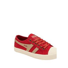 ゴラ レディース スニーカー シューズ Coaster Mirror Sneaker RED/GOLD/OFF WHITE