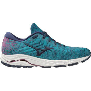 ミズノ レディース ランニング スポーツ Mizuno Women's Wave Inspire 16 WAVEKNIT Running Shoes Aqua Or Turquoise 03