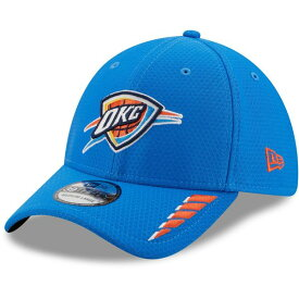 ニューエラ メンズ 帽子 アクセサリー New Era Men's Oklahoma City Thunder Rush OTC 39THIRTY Cap Blue Light 01