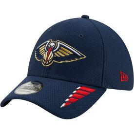 ニューエラ メンズ 帽子 アクセサリー New Era Men's New Orleans Pelicans Rush OTC 39THIRTY Cap Navy