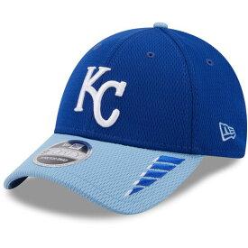 ニューエラ メンズ 帽子 アクセサリー New Era Men's Kansas City Royals 2Tone Rush 9FORTY Stretch Snapback Cap Blue