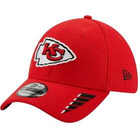 ニューエラ メンズ 帽子 アクセサリー New Era Men's Kansas City Chiefs Rush 39THIRTY Cap Red