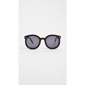 カレンウォーカー レディース サングラス&アイウェア アクセサリー Alternative Fit Super Duper Strength Sunglasses Black/Smoke Mono
