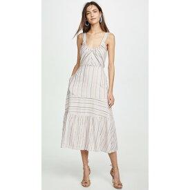 レベッカテイラー レディース ワンピース トップス Sleeveless Metallic Stripe Dress Faded Lilac