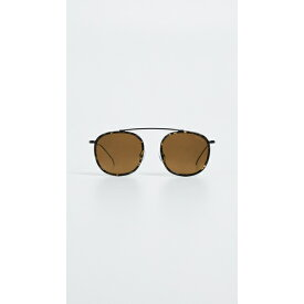 イレステバ レディース サングラス&アイウェア アクセサリー Mykonos Sunglasses Black with Gold Mirror