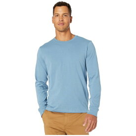 ジェイクルー メンズ シャツ トップス Essential Crewneck Long-Sleeve T-Shirt Dusty Sea