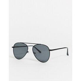 エージェイモーガン レディース サングラス&アイウェア アクセサリー AJ Morgan sheriff aviator sunglasses Black