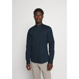 カルバン クライン テイラード メンズ シャツ トップス LOGO STRETCH SLIM - Formal shirt - navy