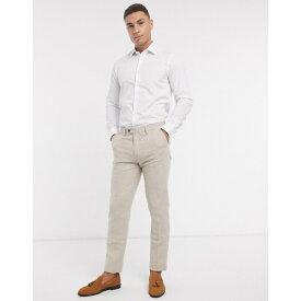 フレンチコネクション メンズ シャツ トップス French Connection slim fit poplin shirt White