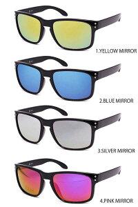 高品質 格安 インポート ホルブルックタイプ ミラーレンズ サングラス ブルー ピンク イエロー ブラック スノーボード 釣り 運転 伊達眼鏡 激安 眼鏡 メガネ 伊達 黒ぶち メンズ レディース