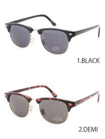158e172d07e298 高品質 格安 インポート ハーフリム クラブマスタースタイル サングラス ブラック べっ甲 スモークレンズ ゴールド 伊達眼鏡