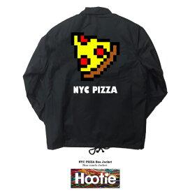【NYC PIZZA JKT】ストリート ダンス ファッション ピザ ハンバーガー ゲーム ニューヨーク ポップ ブレイク NY newyorkアメリカ ジャンフード junkfood GAME スケーター