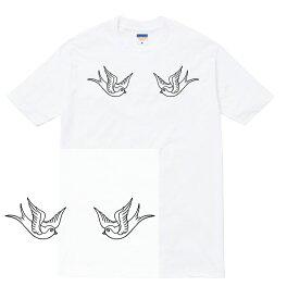SWALLOW TATTOO tシャツ 鳥 ツバメ スワロー トラディショナル tattoo 刺青 入墨 タトゥー アート 芸術 art メンズ レディース ストリート ブランド tee Tシャツ
