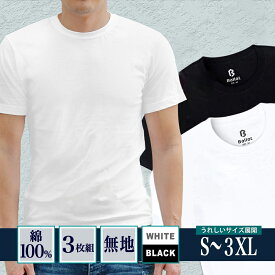 【あす楽】tシャツ メンズ 無地 半袖 厚手 Tシャツ ヘビーウェイト 3枚組 白 黒 ドライ 大きいサイズ まとめ買い Ballot バロット ASTYSHOP 送料無料