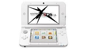 3DS LL 上側液晶の破損・ちらつきなど修理します。【任天堂・ニンテンドー・本体修理】
