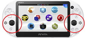 PS Vita (PCH-2000)  アナログパッド(ジョイスティック)の故障修理【アナログスティック・レバー・本体修理】