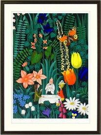 【版画・絵画】レイモン・ペイネ『お花のレストラン』リトグラフ■限定300部・新品★