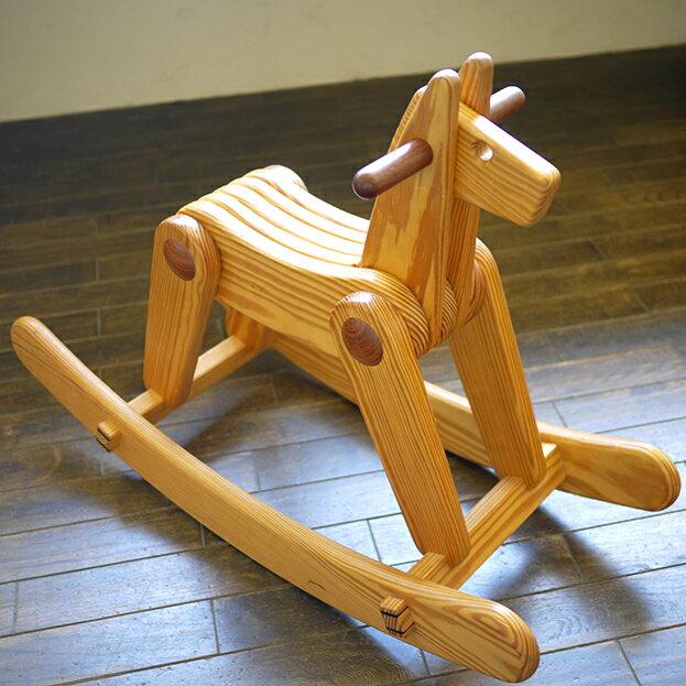 【木馬 手作り】キットひかる【完成品・組み立て代込み】【木馬】【手作り】【日本製】-木のおもちゃ飛鳥工房