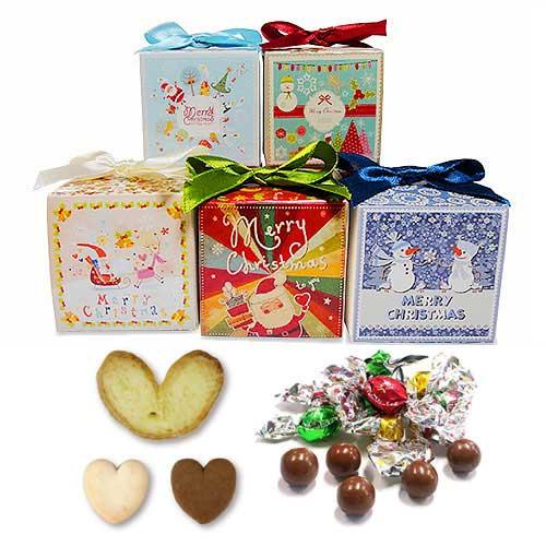 【クリスマスグルメCCクッキー&チョコ】お菓子のプチギフト詰め合わせ 結婚式 業務用 大量 個包装