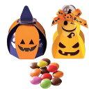 ハロウィン 個包装 業務用お菓子【ハロウィンのかぼちゃ馬車1個 マーブルチョコ】ばらまきプチギフト