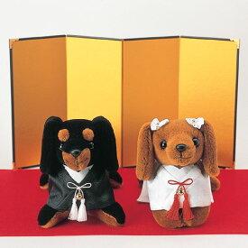 【ミニチュアダックス/和装 】和装ウェディングドッグ・手作りキット