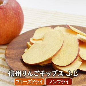 信州りんごチップスふじ