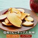 【数量限定】信州りんごチップス秋映(25g)長野県産 国産リンゴ 化学調味料無添加 ノンフライ お菓子 リンゴチップス…