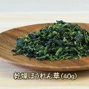 乾燥野菜ドライ(乾燥)ほうれん草(40g)●賞味期限2018.12.12アスザックフーズ