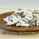 フリーズドライ野菜 フリーズドライ ヒラタケ ひらたけ 平茸(20g)
