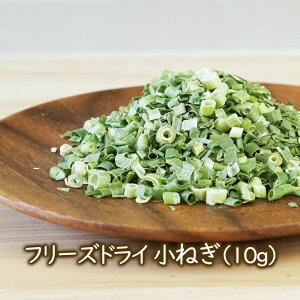 乾燥野菜 フリーズドライ野菜 フリーズドライ小ねぎ(10g) 小ネギ コネギ 乾燥ネギ・ドライねぎ 味噌汁 ラーメン具材 乾燥野菜のアスザックフーズ