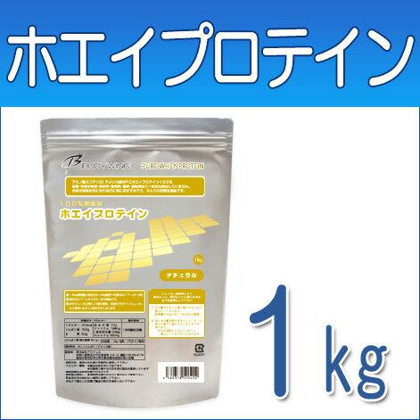 ボディウイング ホエイプロテイン 無添加ナチュラル1kg