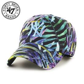 47 Brand 47 ブランド キャップ ローキャップ ベースボール 帽子 メンズ レディース 大きいサイズ Yankees Monocot '47 CLEAN UP MONOC17PTS