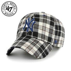 47Brand キャップ 47 Brand CAP 47ブランド 帽子 ローキャップ ベースボールキャップ メンズ レディース ブランド 大きいサイズ ヤンキース YANKEES BACKCOUNTRY '47 CLEAN UP BKCLN17XFS ブラック