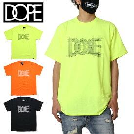 【SALE】ドープ DOPE Tシャツ 半袖 半袖Tシャツ メンズ レディース ブランド 大きいサイズ おしゃれ かっこいい BLUE PRINT TEE 19DP-FW009T セーフティグリーン オレンジ ブラック M L XL XXL