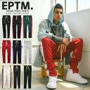 【セール 2000円OFF】EPTM エピトミ パンツ トラックパンツ 裾ジップ TECHNO TRACK PANTS/メンズ/レディース/HIP HOP/…