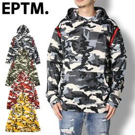 EPTM エピトミ CAMO STRETCH HOODIE 19EP-SP8792 メンズ レディース 春夏 パーカー カモ柄 ブラック グリーン イエロー レッド S M L XL