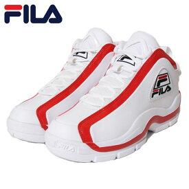 FILA フィラ スニーカー 96 GL F0313 RED ダッドスニーカー グランドヒル ウォーキング ホワイト×エナメルレッド 26.5cm 27cm 27.5cm 28cm