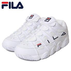 FILA フィラ スニーカー BARRICADE X97 F0414 WHITE ダッドスニーカー バリケード ハイテク 厚底 ホワイト 26.5cm 27cm 27.5cm 28cm