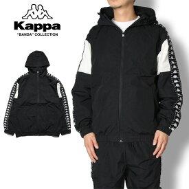 【セール30%OFF】KAPPA BANDA カッパ バンダ KNIT JACKET K08Y2WK63M メンズ レディース 秋冬 ジャケット ブラック ホワイト M L XL