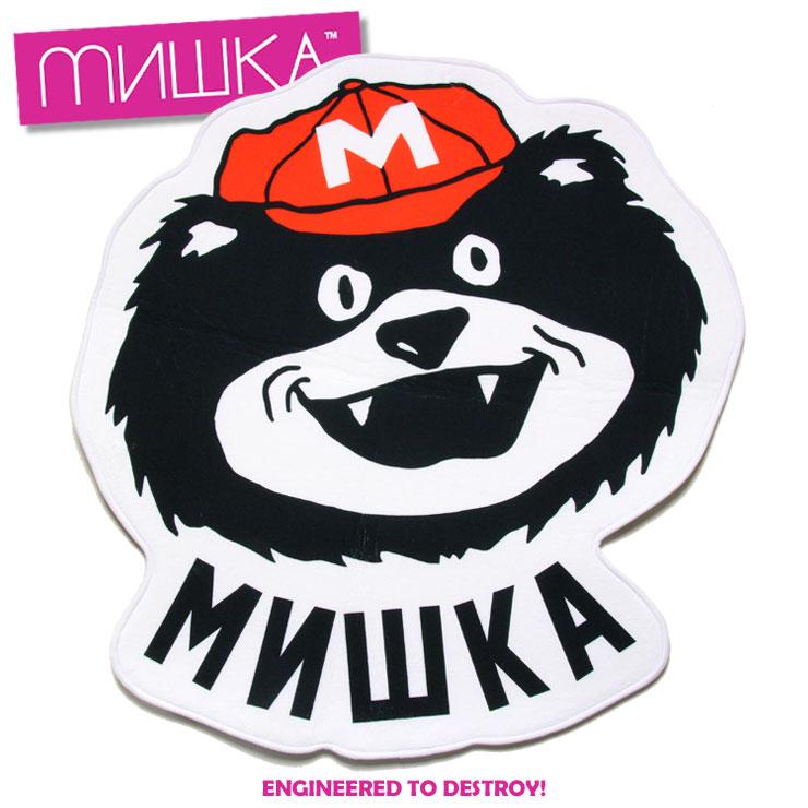 ミシカ MISHKA MASCOT FLOOR MAT EXFA17001 メンズ レディース 秋冬 ラグマット マルチ ONE SIZE