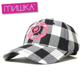 ミシカ MISHKA キャップ 帽子 メンズ レディース ブランド 大きいサイズ CAP MSS203209 ブラック